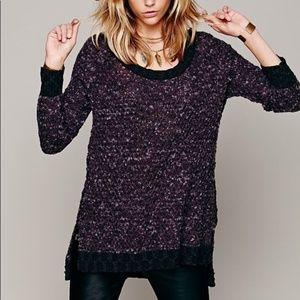 Free People Wool Mix Jeepster Sweater
